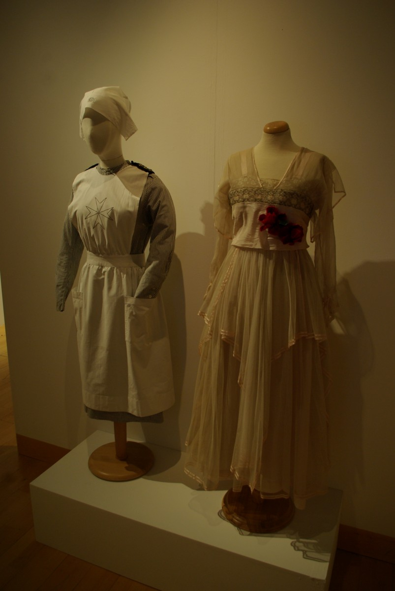 Womenswear before and during the Great War