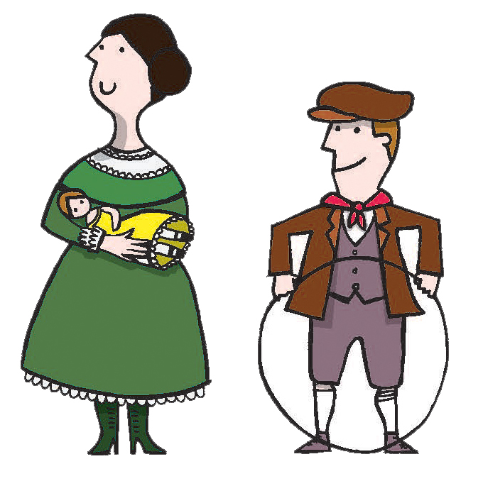 Image result for victorian children clipart