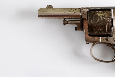 .38 bulldog revolver used by John Martin in Netherby Hall robbery