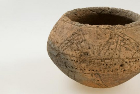 Biconical jar from Kirkoswald, Cumbria
