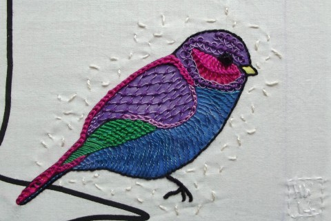 Hand Embroidery example